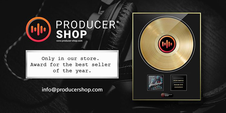 Bestseller of the year - Producershop