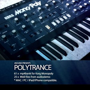 Polytrance for Korg Mono/Poly